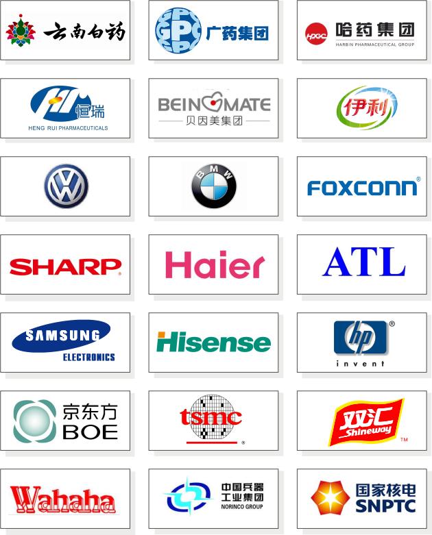 佰伦品牌医用/生物制药空气净化设备生产厂家器械柜部分客户